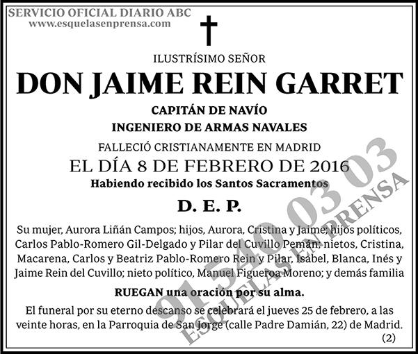 Jaime Rein Garret